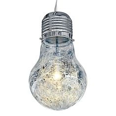 Edison Large Modern Art Bulb Ceiling Light, stylish lighting with free delivery from www.serendipityhomeinteriors.com