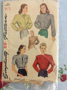 Subversive Femme: FO: 1940's Lumber Jacket and Cherry Blouse