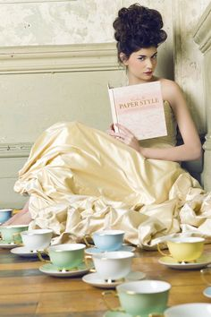 Time for tea?  via Cristina Re
