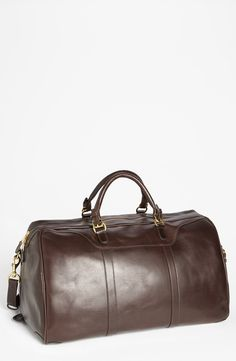 'Hippo' Leather Duffel Bag