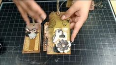 Mixed Media Tags on