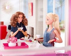 A good catch up with friends is my perfect cup of tea!  #barbie #barbiestyle