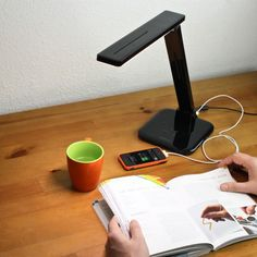 Smart LED desk lamp is sensitive to your moods