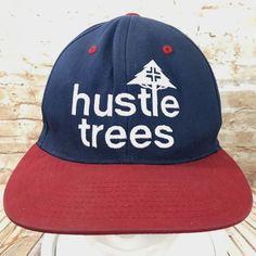 Hustle Trees LRG Red Blue Snapback Baseball Cap Hat Adjustable #TrueHeads #BaseballCap