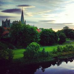The city formerly known as Nidaros, and where St Olav was buried #Trondheim Photo by: visittrondheim