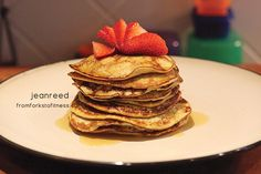 2-Ingredient Pancakes | From Forks to Fitness, 21 Day Fix