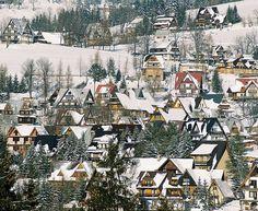 winter in the Tatra Mountains, Zakopane, Poland
