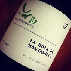 2012 ended with one of the finer sherries I tasted all year - Equipo Navazos La Bota De Manzanilla No.32
