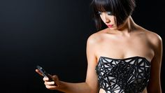 The X.Pose Corset Has the Ability to Connect to Your Smartphone #tech #trends trendhunter.com