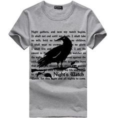 Game of Thrones Nights Watch Oath T-Shirt
