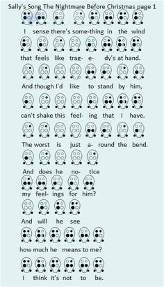 Sally's Song The Nightmare Before Christmas Ocarina Tabs, Ocarina Music, Music Ed, Music Notes, Easy Sheet Music, Music Sheets, Native American Flute, Music Chords, Instruments