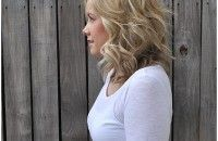 Great tutorials for semi curly hair and other styles