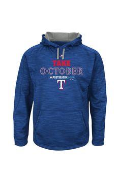 Texas Rangers Royal Streak Postseason Hoodie http://www.rallyhouse.com/texas-rangers-mens-royal-streak-hoodie-long-sleeve-performance-hood-17257076?utm_source=pinterest&utm_medium=social&utm_campaign=Pinterest-TexasRangers $80