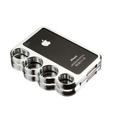 brass knuckle iphone case - YES!