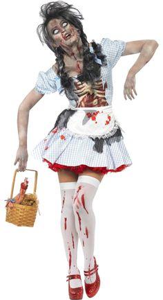 zombie dorothy - adult costume