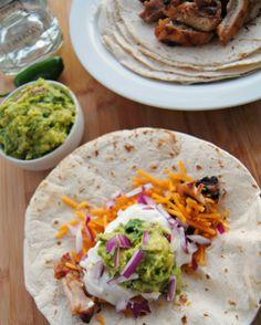 ... -Marinated Chicken Tacos | Recipe | Chicken Tacos, Chicken Taco
