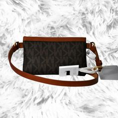 bdee11c23ebd Michael Kors MK Signature Belt Wallet Travel Genuine Leather Medium # MichaelKors #BeltBag