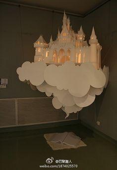 Castle-paper cutting