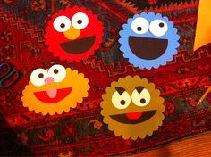 Cookie Monster Door Decs