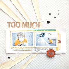 Too much - SC blog by Marcy Penner