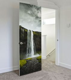Browse our selection of hand picked door murals to spruce any door in your house, business or office. Door murals are a cost-effective way to decorate any room.