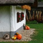 The typical Pannonian house can be found in the northeastern Slovenia and Prekmurje region.