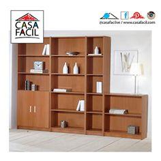 Regala orden y estilo a tu sala con nuestra magnìfica estanterìa.