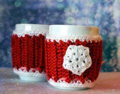 Szydełkowe ubranko na kubki #crochet #handmade