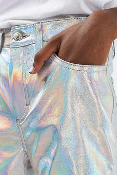 ** iridescent