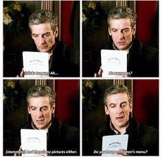 I love twelve already! Doctor Who