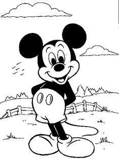 ty coloring pages | Mickey Mouse Coloring Pages - ColoringPagesABC ...