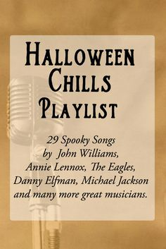 halloween chills playlist more - Halloween Party Songs For Teenagers