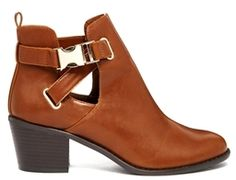 Asos RED LIGHT Ankle Boots - Tan on shopstyle.co.uk