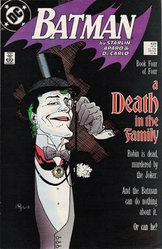 Batman: A Death in the Family 4 of 4. Cover art by Mike Mignola.