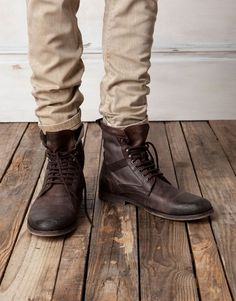 Some serious Boots that you can rock anywhere.
