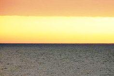 Zachód słońca nad morzem Bałtyckim.