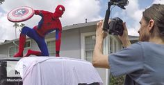 'Spider-Man: Homecoming' gets a homemade makeover and we've got the exclusive BTS