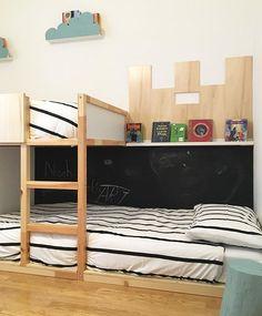 Ikea Kura bunk bed #blackboard #ikea | WEBSTA - Instagram Analytics