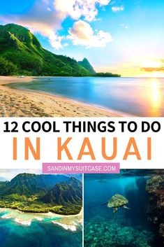 12 Insanely Cool Things to do in Kauai. Kauai has blossomed in the past few years with tons of amazing hotels restaurants and fun activities. Here are the best things to do in Kauai that you might not heard of yet! Discover also the best beaches in Kauai. Kauai Hawaii, Oahu, Hawaii Life, Kauai Vacation, Hawaii Honeymoon, Cool Places To Visit, Places To Travel, Travel Destinations, Holiday Destinations