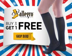 Compression Stockings & Compression Socks by Jobst, Mediven, Juzo, Sigvaris, Allegro and Therafirm - BrightLife Direct