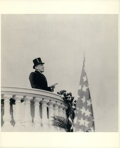 28th President Woodrow Wilson's delivers his second Inaugural speech (1917)  Most damaging President to date.