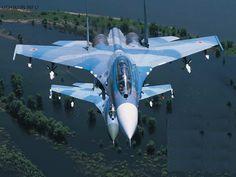 Soviet Su-30 Flight