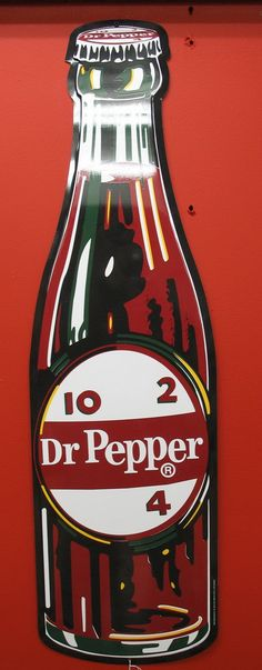 By Stout, 40 in. on Jul 2006 Dr Pepper, Bottle Cutting, Old Signs, Good Ole, Neon, Sugar, Stuffed Peppers, Memories, Antiques
