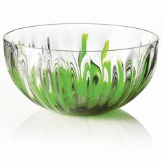 Guzzini Iris Bowl, Green