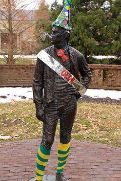 Thomas Jefferson dressed for W's 317th Birthday (2010)
