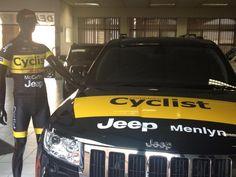 CJD Menlyn Dealer Principal Dean Shekleton, sponsors of Complete Cyclist Vets Team, takes on the touch Sani2C mountain bike challenge.