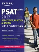 PSAT/NMSQT 2017 : strategies, practice & review