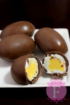 """This year for Easter I didn't get to make a cake. Instead I was asked if I could make some custom Cadbury Eggs. Honestly my first thought was, """"Why in the world, would anyone want to ma…"""