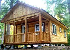 x Mountain Brook weekend custom cabin in San Diego, California. Cabin House Plans, Cabin Kits, Log Cabin Homes, Log Cabins, Small Cabins, Amish Cabins, Barn Homes, How To Build A Log Cabin, Building A Cabin
