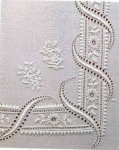 ru / Фото - Cifre dal libro di Liliana Balbi Cappelletti - (Figures from the book of Liliana Balbi Cappelletti) ricamieleonoraEmbroidery It: How to do Cutwork Machine Embroidery a Step-By-Step best images about HardangerThis Pin was d Embroidery Designs, Hardanger Embroidery, Types Of Embroidery, Learn Embroidery, White Embroidery, Embroidery Stitches, Hand Embroidery, Machine Embroidery, Broderie Bargello